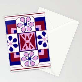 Daisy Quilt Stationery Cards