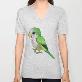 Very cute parrot Unisex V-Neck