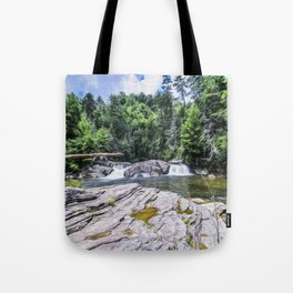 Lower Fall View Tote Bag