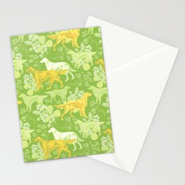 SETTERS ON THE MEADOW Stationery Cards