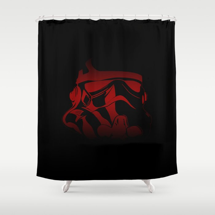 The Bloody Stormtrooper Shower Curtain