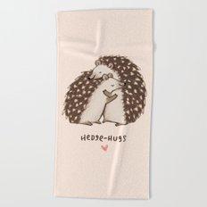 Hedge-hugs Beach Towel