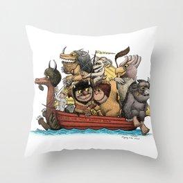 Bring The Wild Rumpus Back! Throw Pillow