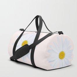 Daisy On Pink Duffle Bag
