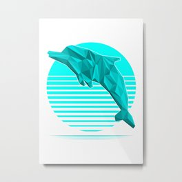 Thanks for all the fish! Metal Print