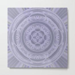 Lace Rays Metal Print