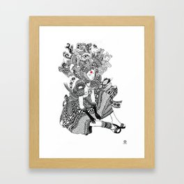 Go Ask Alice Framed Art Print
