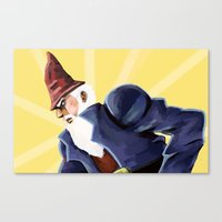 jojo Canvas Prints featuring Jojo Gnome by derpidew