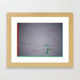 Here Comes the CHISME! Framed Art Print