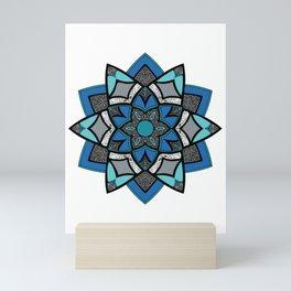 Finale Mandala - Hand Drawn Mandala Design Mini Art Print