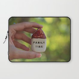 Family Time House Laptop Sleeve