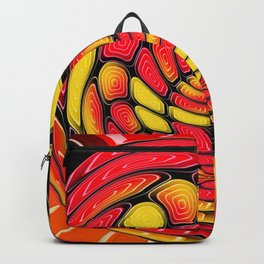 Vibrant reds Backpack