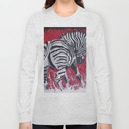 Little Zebra Long Sleeve T-shirt