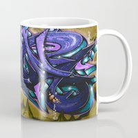 graffiti Mugs featuring Graffiti by Fine2art