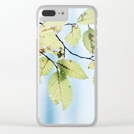 bight summer laves Clear iPhone Case