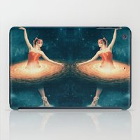 nan lawson iPad Cases featuring Prima Ballerina Assoluta by Paula Belle Flores