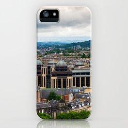 Panoramic of Edinburgh iPhone Case