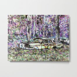 Waste of a great car Metal Print