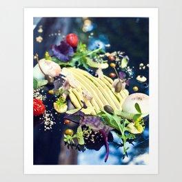 Tuna salad Art Print
