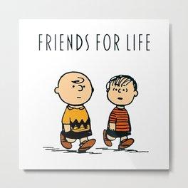 Charlie and friends Metal Print