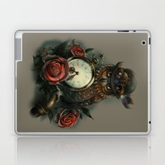 Sir Owl. Steampunk Laptop & iPad Skin