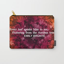 Autumn Literature Quotes Carry-All Pouch