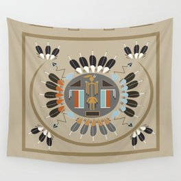 American Native Pattern No. 115 Wall Tapestry