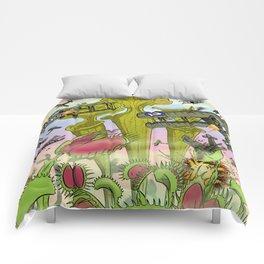 Plants Vs Planes Comforters