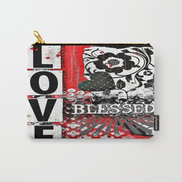 Love BLESSED Carry-All Pouch