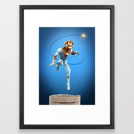 Thundercats Fan Art Framed Art Print