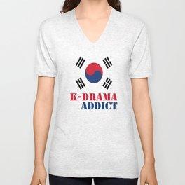 K-drama Addict Unisex V-Neck