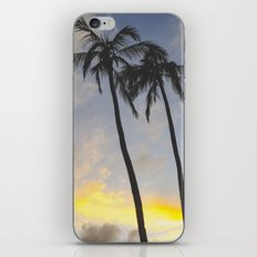 Sunset of the Palms iPhone & iPod Skin