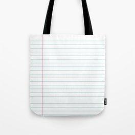 Notepaper Tote Bag