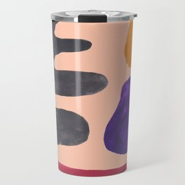 33| 190330 Abstract Shapes Painting Travel Mug