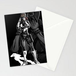 Vigilante Girl Stationery Cards