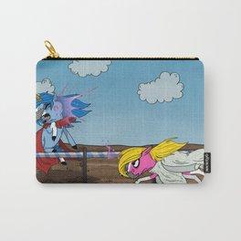 Mustache Unicorn Joust Carry-All Pouch