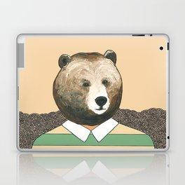 Bear Waiting to Cross the Street Laptop & iPad Skin