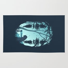 Lonely Spirit Spirited Away Rug