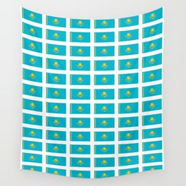 flag of Kazakhstan -Kazakhstan,Kazakh,Қазақстан,Казахстан,Kazakhstani,Astana. Wall Tapestry