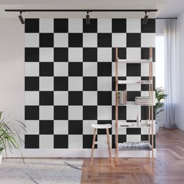 Checker (Black/White) Wall Mural