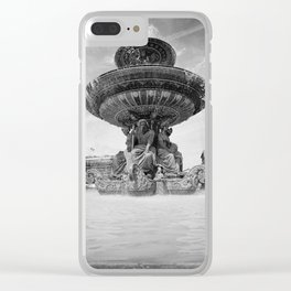 Concorde Fontaine Clear iPhone Case