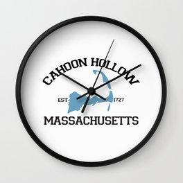 Cahoon Hollow, Cape Cod Wall Clock