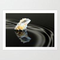 seashell Art Prints featuring Seashell by Lyn Evans