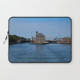 Operations Administrations Building for the Soo Locks Laptop Sleeve