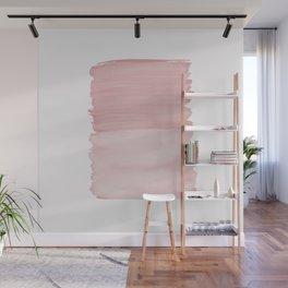 Blush Abstract Minimalism #1 #minimal #ink #decor #art #society6 Wall Mural