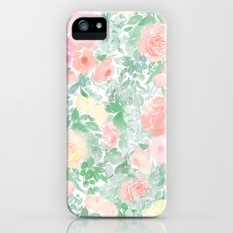 Springy Florals iPhone Case