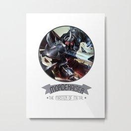 League Of Legends - Mordekaiser Metal Print