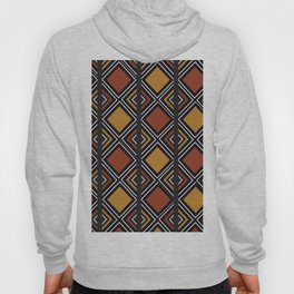 African Tribal Pattern No. 59 Hoody