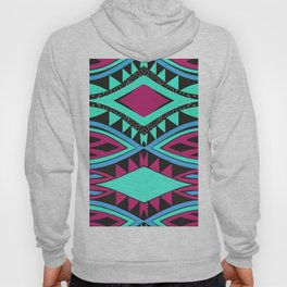 Ovals and rhombus Hoody