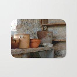 Inside the Old Potting Shed Bath Mat